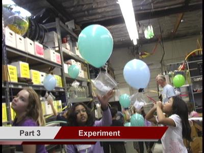 Helium Balloons Experiment