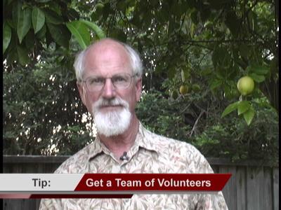 Get a Team of Volunteers