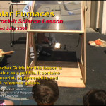 Solar Furnaces trailer